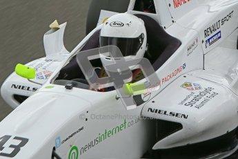 © Octane Photographic Ltd. 2012. Donington Park - General Test Day. Thursday 16th August 2012. Formula Renault BARC. David Wagner - MGR Motorsport. Digital Ref : 0458cb1d1264