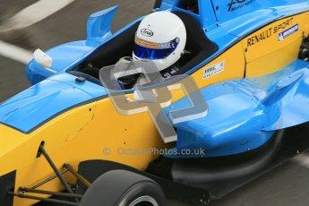© Octane Photographic Ltd. 2012. Donington Park - General Test Day. Thursday 16th August 2012. Formula Renault BARC. Oliver Sirrell - ACS Motorsport. Digital Ref : 0458cb1d1302