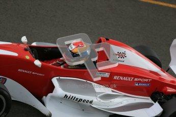 © Octane Photographic Ltd. 2012. Donington Park - General Test Day. Thursday 16th August 2012. Formula Renault BARC. Jacob Nortoft - Hillspeed. Digital Ref : 0458cb1d1441