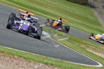 © Octane Photographic Ltd. 2012. Donington Park - General Test Day. Thursday 16th August 2012. Formula Renault BARC. Josh Webster - MGR Motorsport. Digital Ref : 0458ce1d0028
