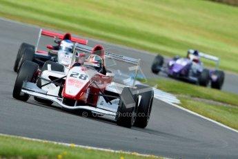 © Octane Photographic Ltd. 2012. Donington Park - General Test Day. Thursday 16th August 2012. Formula Renault BARC. Kieran Vernon - Hillspeed. Digital Ref : 0458ce1d0125