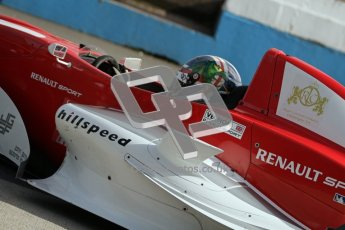 © Octane Photographic Ltd. 2012. Donington Park - General Test Day. Thursday 16th August 2012. Formula Renault BARC. Kieran Vernon - Hillspeed. Digital Ref : 0458lw7d0013
