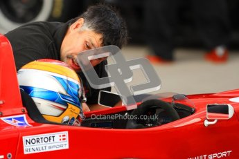 © Octane Photographic Ltd. 2012. Donington Park - General Test Day. Thursday 16th August 2012. Formula Renault BARC. Jacob Nortoft - Hillspeed. Digital Ref : 0458lw7d0087