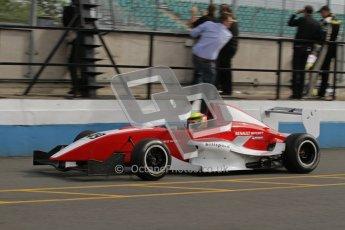 © Octane Photographic Ltd. 2012. Donington Park - General Test Day. Thursday 16th August 2012. Formula Renault BARC. Digital Ref : 0458lw7d0136