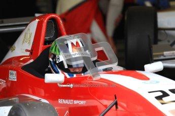 © Octane Photographic Ltd. 2012. Donington Park - General Test Day. Thursday 16th August 2012. Formula Renault BARC. Kieran Vernan - Hillspeed. Digital Ref : 0458lw7d013o