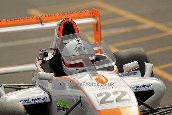 © Octane Photographic Ltd. 2012. Donington Park - General Test Day. Thursday 16th August 2012. Formula Renault BARC. Falco Wauer - Cliff Dempsey Motorsport. igital Ref : 0458lw7d0145