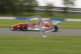 © Octane Photographic Ltd. 2012. Donington Park - General Test Day. Thursday 16th August 2012. Formula Renault BARC. Kieran Vernon - Hillspeed. Digital Ref : 0458lw7d0281