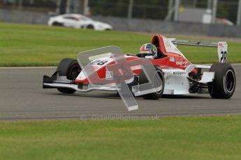 © Octane Photographic Ltd. 2012. Donington Park - General Test Day. Thursday 16th August 2012. Formula Renault BARC. Kieran Vernon - Hillspeed. Digital Ref : 0458lw7d0318