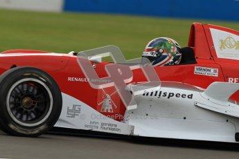 © Octane Photographic Ltd. 2012. Donington Park - General Test Day. Thursday 16th August 2012. Formula Renault BARC. Kieran Vernon - Hillspeed. Digital Ref : 0458lw7d0322