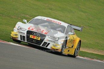 © Octane Photographic Ltd. 2012. DTM – Brands Hatch  - Friday Afternoon Practice. Timo Scheider - Audi A5 DTM - Audi Sport Team Abt Sportsline. Digital Ref :