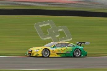© Octane Photographic Ltd. 2012. DTM – Brands Hatch  - Friday Afternoon Practice. Mike Rockenfeller - Audi A5 DTM - Audi Sport Team Phoenix. Digital Ref :