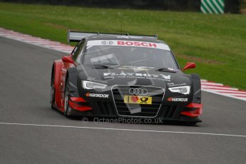 © Octane Photographic Ltd. 2012. DTM – Brands Hatch  - Friday Afternoon Practice. Edoardo Mortara - Playboy Audi A5 DTM - Audi Sport Team Rosberg. Digital Ref :