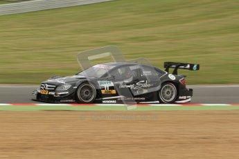 © Octane Photographic Ltd. 2012. DTM – Brands Hatch  - Friday Practice 1. Gary Paffett - Mercedes AMG C-Coupe - Thomas Sabo Mercedes AMG. Digital Ref : 0340cb7d2918