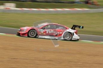 © Octane Photographic Ltd. 2012. DTM – Brands Hatch  - Friday Practice 1. Susie Wolff - TV Spielfilm Mercedes AMG C-Coupe. Digital Ref : 0340lw7d9728