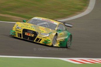 © Octane Photographic Ltd. 2012. DTM – Brands Hatch  - Friday Practice 1. Mike Rockenfeller - Audi A5 DTM - Audi Sport Team Phoenix. Digital Ref :