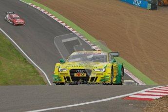 © Octane Photographic Ltd. 2012. DTM – Brands Hatch  - Friday Practice 1. Mike Rockenfeller - Audi A5 DTM - Audi Sport Team Phoenix. Digital Ref : 0340lw7d9653
