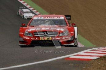 © Octane Photographic Ltd. 2012. DTM – Brands Hatch  - Friday Practice 1. Digital Ref : 0340lw7d9662