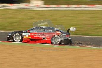 © Octane Photographic Ltd. 2012. DTM – Brands Hatch  - Saturday 19th May 2012. Edoardo Mortara - Playboy Audi A5 DTM - Audi Sport Team Rosberg. Digital Ref :