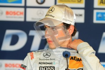 © Octane Photographic Ltd. 2012. DTM – Brands Hatch  - Saturday Press Conference. Digital Ref :