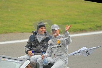© Octane Photographic Ltd. 2012. DTM – Brands Hatch  - DTM Drivers' presentation. Sunday 20th May 2012. Digital Ref : 0348cb1d9461