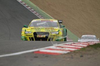 © Octane Photographic Ltd. 2012. DTM – Brands Hatch  - DTM Warm up session. Sunday 20th May 2012. Mike Rockenfeller - Audi A5 DTM - Audi Sport Team Phoenix. Digital Ref : 0347lw7d5100
