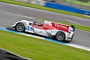 © Octane Photographic Ltd/ Chris Enion. European Le Mans Series. ELMS 6 Hours at Donington Park. Sunday 15th July 2012. Digital Ref: 409ce1d0037