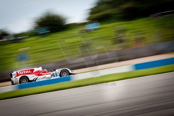 © Octane Photographic Ltd/ Chris Enion. European Le Mans Series. ELMS 6 Hours at Donington Park. Sunday 15th July 2012. Digital Ref: 409ce1d0118