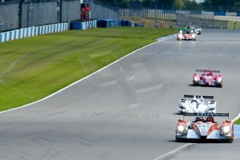 © Octane Photographic Ltd/ Chris Enion. European Le Mans Series. ELMS 6 Hours at Donington Park. Sunday 15th July 2012. Digital Ref: 409ce1d0124