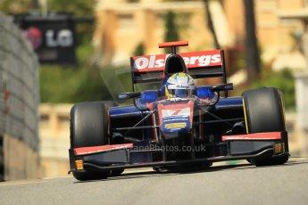 © Octane Photographic Ltd. 2012. F1 Monte Carlo - GP2 Practice 1. Thursday  24th May 2012. Marcus Ericsson - iSport International. Digital Ref : 0353cb1d0616