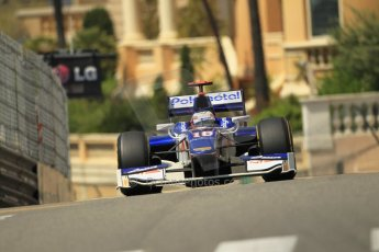 © Octane Photographic Ltd. 2012. F1 Monte Carlo - GP2 Practice 1. Thursday  24th May 2012. Stephane Richelmi - Trident Racing. Digital Ref : 0353cb1d0796