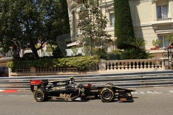 © Octane Photographic Ltd. 2012. F1 Monte Carlo - GP2 Practice 1. Thursday  24th May 2012. Esteban Gutierrez - Lotus GP. Digital Ref : 0353cb7d7672