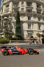 © Octane Photographic Ltd. 2012. F1 Monte Carlo - GP2 Practice 1. Thursday  24th May 2012. Rio Haryanto - Carlin. Digital Ref : 0353cb7d7679
