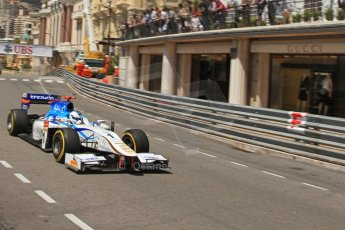 © Octane Photographic Ltd. 2012. F1 Monte Carlo - GP2 Practice 1. Thursday  24th May 2012. Johnny Cecotto Jr. - Barwa Addax Team. Digital Ref : 0353cb7d7726