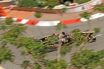 © Octane Photographic Ltd. 2012. F1 Monte Carlo - GP2 Practice 1. Thursday  24th May 2012. James Calado - Lotus GP. Digital Ref : 0353cb7d7780