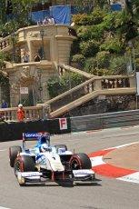 © Octane Photographic Ltd. 2012. F1 Monte Carlo - GP2 Practice 1. Thursday  24th May 2012. Johnny Cecotto Jr. - Barwa Addax Team. Digital Ref : 0353cb7d7879