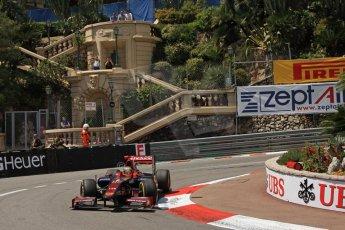 © Octane Photographic Ltd. 2012. F1 Monte Carlo - GP2 Practice 1. Thursday  24th May 2012. Fabrizio Crestani - Venezula GP Lazarus. Digital Ref : 0353cb7d7886