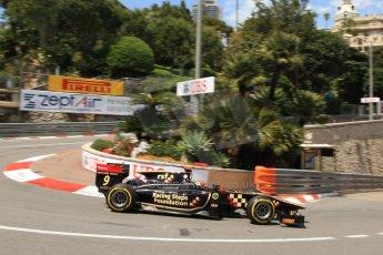 © Octane Photographic Ltd. 2012. F1 Monte Carlo - GP2 Practice 1. Thursday  24th May 2012. James Calado - Lotus GP. Digital Ref : 0353cb7d7958