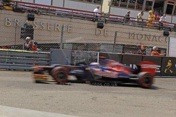 © Octane Photographic Ltd. 2012. F1 Monte Carlo - Qualifying - Session 2. Saturday 26th May 2012. Daniel Ricciardo - Toro Rosso. Digital Ref : 0355cb7d8941