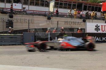 © Octane Photographic Ltd. 2012. F1 Monte Carlo - Qualifying - Session 2. Saturday 26th May 2012. Lewis Hamilton - McLaren. Digital Ref : 0355cb7d8947