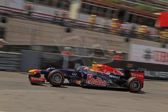 © Octane Photographic Ltd. 2012. F1 Monte Carlo - Qualifying - Session 2. Saturday 26th May 2012. Mark Webber - Red Bull. Digital Ref : 0355cb7d8966