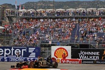 © Octane Photographic Ltd. 2012. F1 Monte Carlo - Qualifying - Session 2. Saturday 26th May 2012. Kimi Raikkonen - Lotus. Digital Ref : 0355cb7d9015