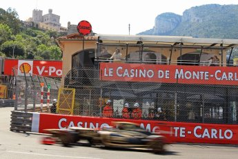 © Octane Photographic Ltd. 2012. F1 Monte Carlo - Qualifying - Session 3. Saturday 26th May 2012. Kimi Raikkonen - Lotus. Digital Ref : 0355cb7d9047