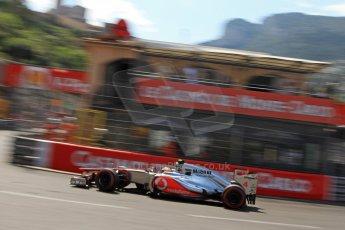 © Octane Photographic Ltd. 2012. F1 Monte Carlo - Qualifying - Session 3. Saturday 26th May 2012. Lewis Hamilton - McLaren. Digital Ref : 0355cb7d9059