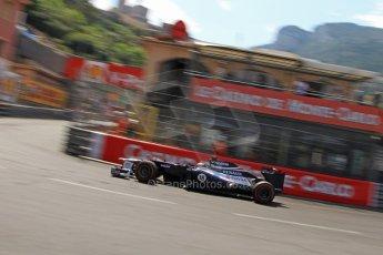 © Octane Photographic Ltd. 2012. F1 Monte Carlo - Qualifying. Saturday 26th May 2012. Pastor Maldonado - Williams. Digital Ref : 0355cb7d9085