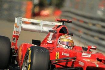 © Octane Photographic Ltd. 2012. F1 Monte Carlo - Practice 1. Thursday  24th May 2012. Fernando Alonso - Ferrari. Digital Ref : 0350cb1d0426