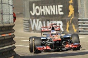 © Octane Photographic Ltd. 2012. F1 Monte Carlo - Practice 1. Thursday  24th May 2012. Jenson Button - McLaren. Digital Ref : 0350cb1d0434