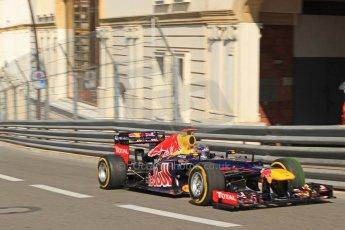 © Octane Photographic Ltd. 2012. F1 Monte Carlo - Practice 1. Thursday  24th May 2012. Sebastian Vettel - Red Bull. Digital Ref : 0350cb7d7358
