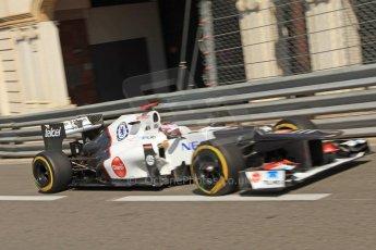 © Octane Photographic Ltd. 2012. F1 Monte Carlo - Practice 1. Thursday  24th May 2012. Kamui Kobayashi. Digital Ref : 0350cb7d7428