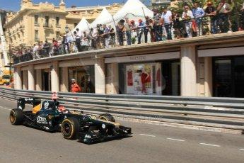 © Octane Photographic Ltd. 2012. F1 Monte Carlo - Practice 1. Thursday  24th May 2012. Heikki Kovalainen - Caterham. Digital Ref : 0350cb7d7513