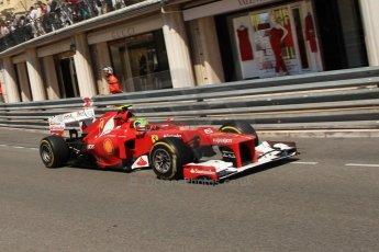 © Octane Photographic Ltd. 2012. F1 Monte Carlo - Practice 1. Thursday  24th May 2012. Felipe Massa - Ferrari. Digital Ref : 0350cb7d7535
